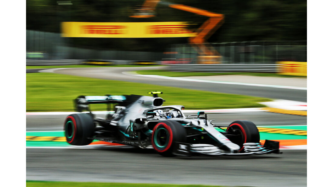 Valtteri Bottas - Mercedes - Formel 1 - GP Italien - Monza - 6. September 2019
