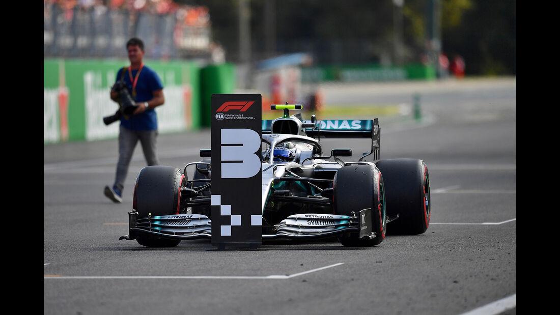 Valtteri Bottas - Mercedes  - Formel 1 - GP Italien - Monza - 7. September 2019