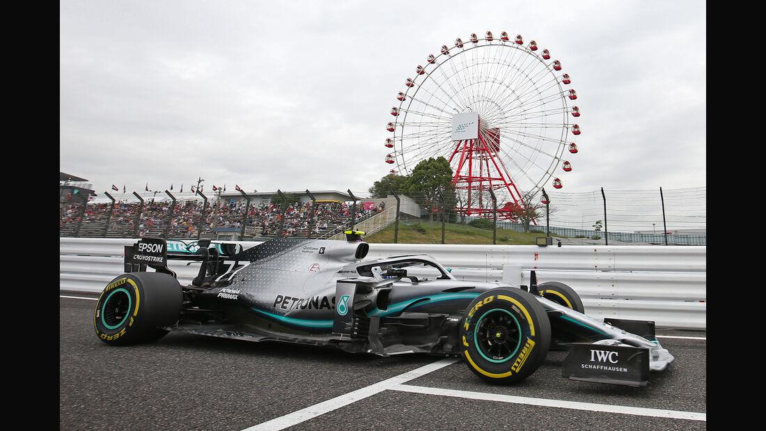 Valtteri Bottas - Mercedes - Formel 1 - GP Japan - Suzuka - 11. Oktober 2019