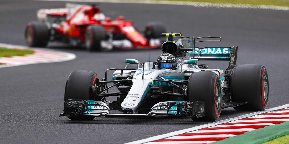 Valtteri Bottas - Mercedes - Formel 1 - GP Japan - Suzuka - 6. Oktober 2017