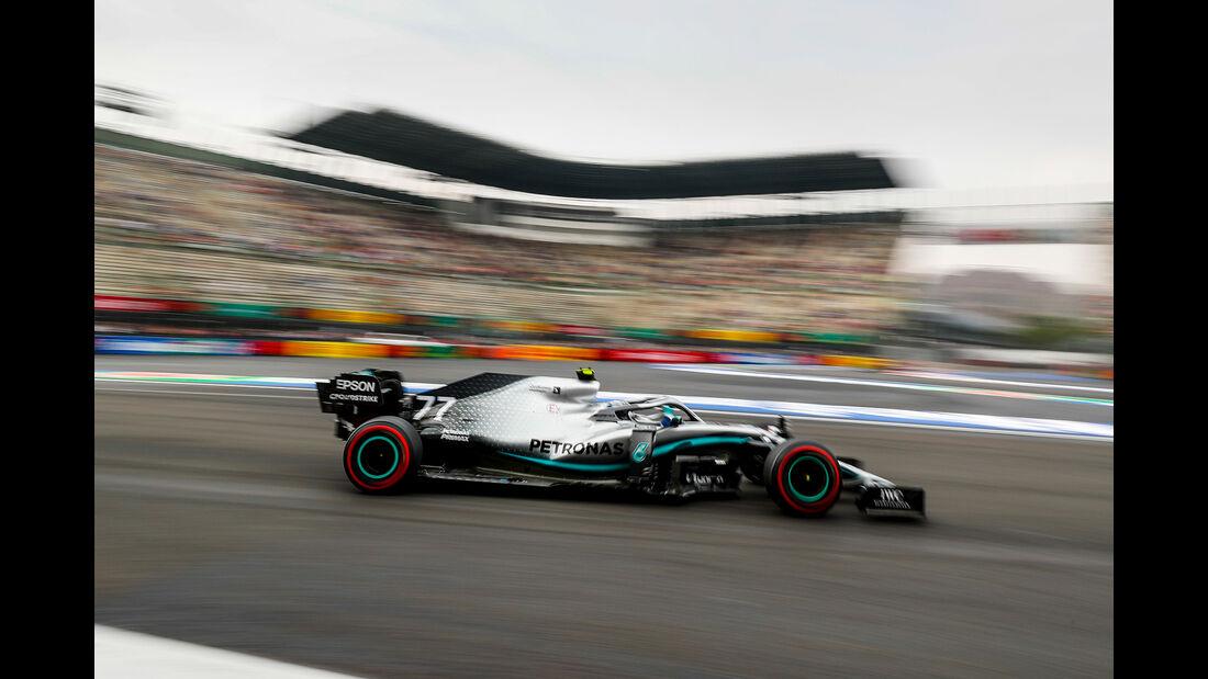 Valtteri Bottas - Mercedes - Formel 1 - GP Mexiko - 25. Oktober 2019