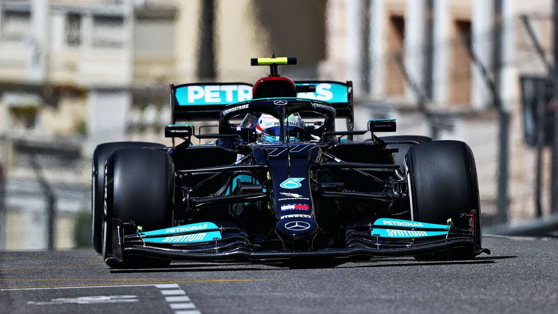 Valtteri Bottas - Mercedes - Formel 1 - GP Monaco - 20. Mai 2021
