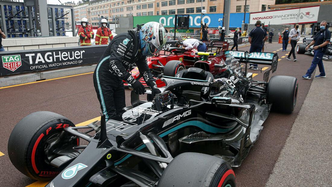 Valtteri Bottas - Mercedes - Formel 1 - GP Monaco - 22. Mai 2021