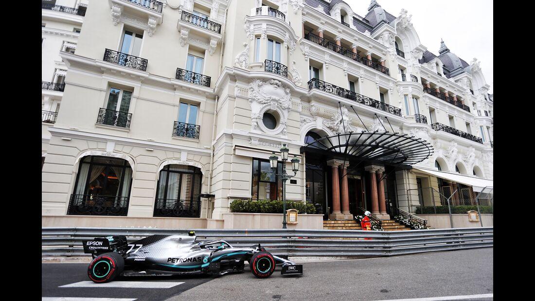 Valtteri Bottas - Mercedes - Formel 1 - GP Monaco - 23. Mai 2019