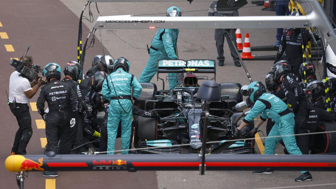 Valtteri Bottas - Mercedes - Formel 1 - GP Monaco - 23. Mai 2021