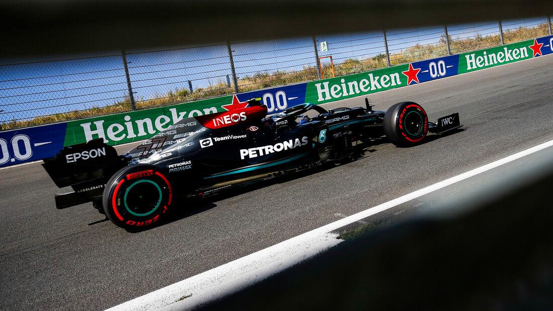 Valtteri Bottas - Mercedes - Formel 1 - GP Niederlande - 4. September 2021