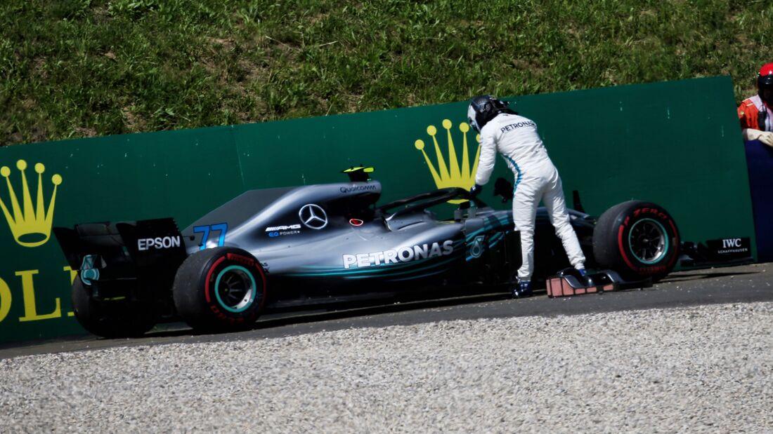 Valtteri Bottas - Mercedes - Formel 1 - GP Österreich - 1. Juli 2018