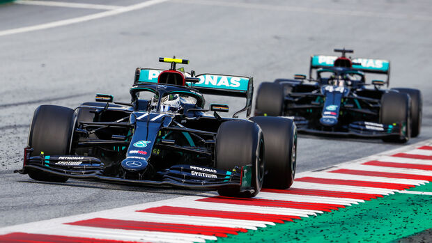 Valtteri Bottas - Mercedes - Formel 1 - GP Österreich - Spielberg - 5. Juli 2020