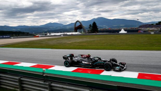 Valtteri Bottas - Mercedes - Formel 1 - GP Österreich - Spielberg - Freitag - 2.7.2021