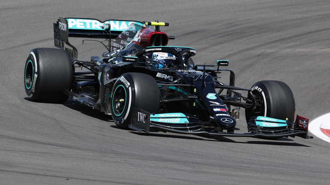 Valtteri Bottas - Mercedes - Formel 1 - GP Portugal - Portimao - 30. April 2021