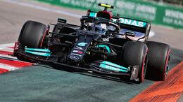 Valtteri Bottas - Mercedes - Formel 1 - GP Russland - Sotschi - 24. September 2021