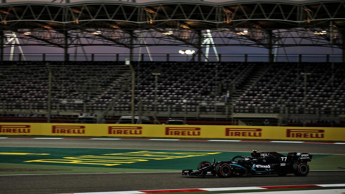 Valtteri Bottas - Mercedes - Formel 1 - GP Sakhir - Bahrain - Freitag - 4.12.2020