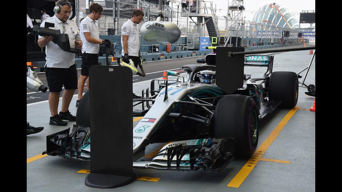 Valtteri Bottas - Mercedes - Formel 1 - GP Singapur - 14. September 2018