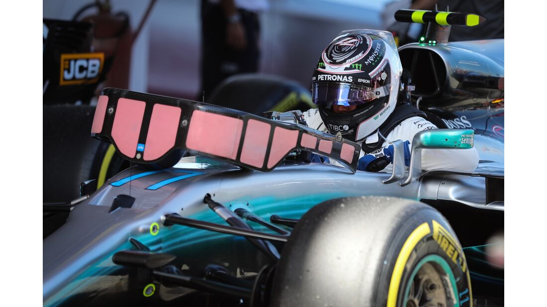 Valtteri Bottas - Mercedes - Formel 1 - GP Spanien - 13. Mai 2017