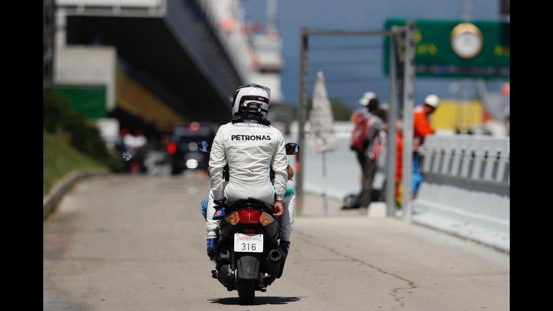 Valtteri Bottas - Mercedes - Formel 1 - GP Spanien - 14. Mai 2017
