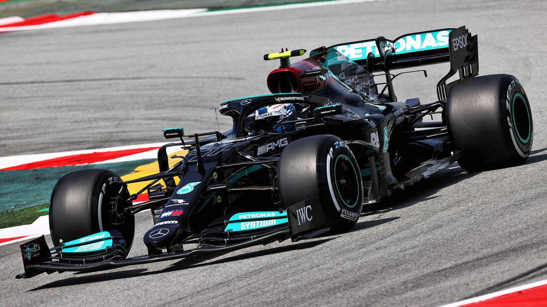 Valtteri Bottas - Mercedes - Formel 1 - GP Spanien - 7. Mai 2020
