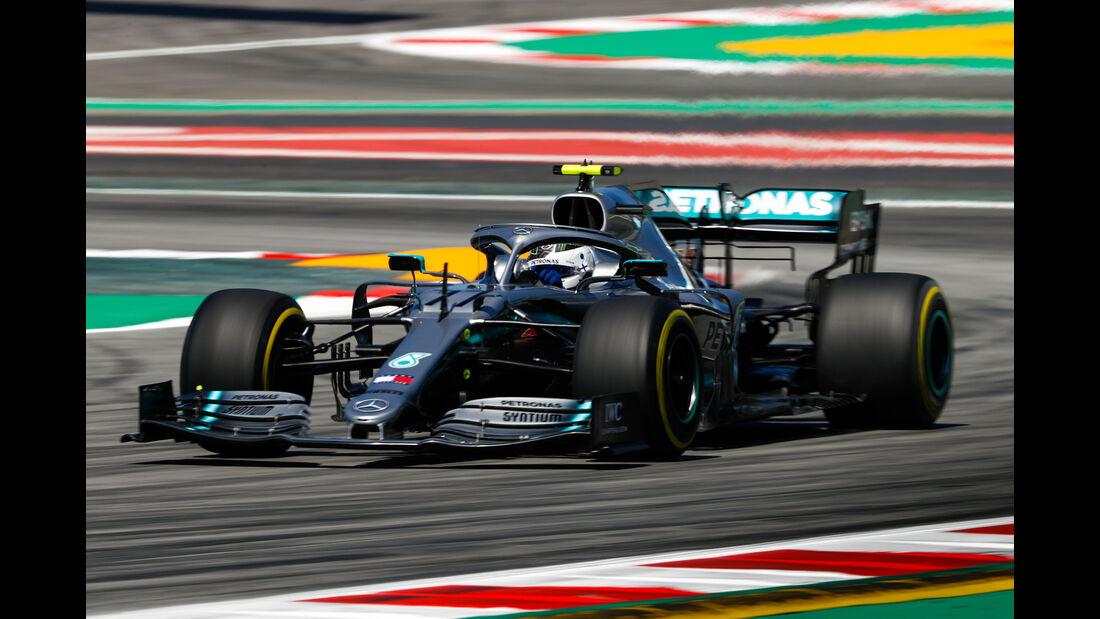 Valtteri Bottas - Mercedes - Formel 1 - GP Spanien - Barcelona - 10. Mai 2019