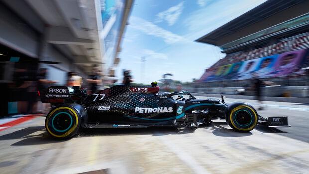 Valtteri Bottas - Mercedes - Formel 1 - GP Spanien - Barcelona - 14. August 2020