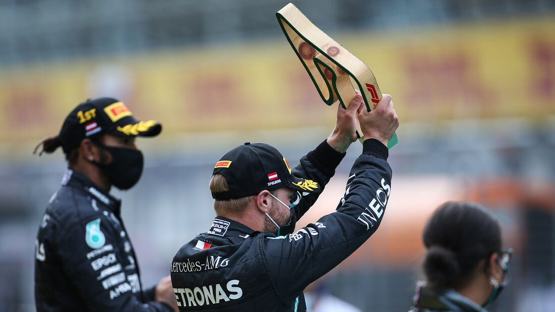 Valtteri Bottas - Mercedes - Formel 1 - GP Steiermark 2020 - Spielberg - Rennen