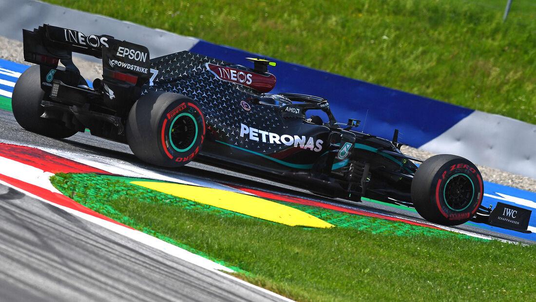 Valtteri Bottas - Mercedes - Formel 1 - GP Steiermark - Österreich - Spielberg - 10. Juli 2020