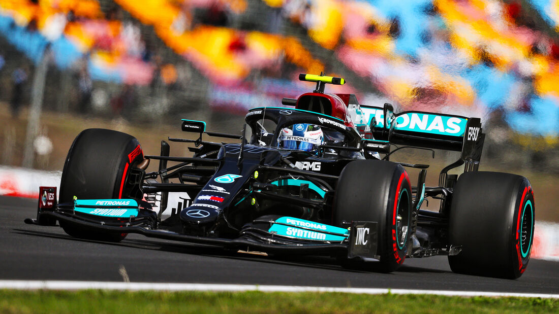 Valtteri Bottas - Mercedes - Formel 1 - GP Türkei - Istanbul - 8. Oktober 2021