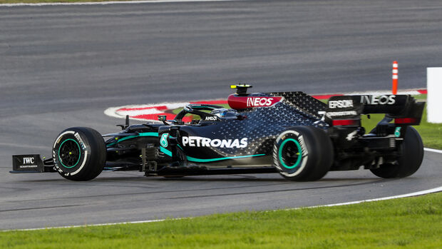 Valtteri Bottas - Mercedes - Formel 1 - GP Türkei - Istanbul - Freitag - 13.11.2020