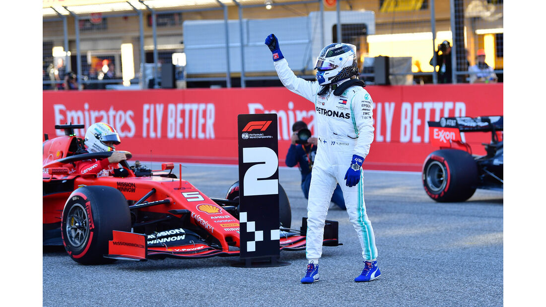 Valtteri Bottas - Mercedes  - Formel 1 - GP USA - Austin - 2. November 2019