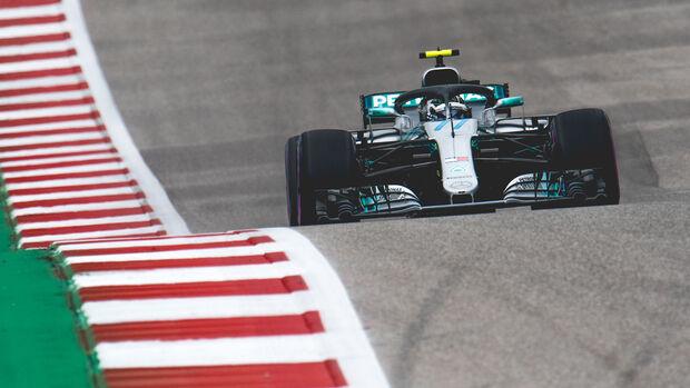 Valtteri Bottas - Mercedes - Formel 1 - GP USA - Austin - 20. Oktober 2018