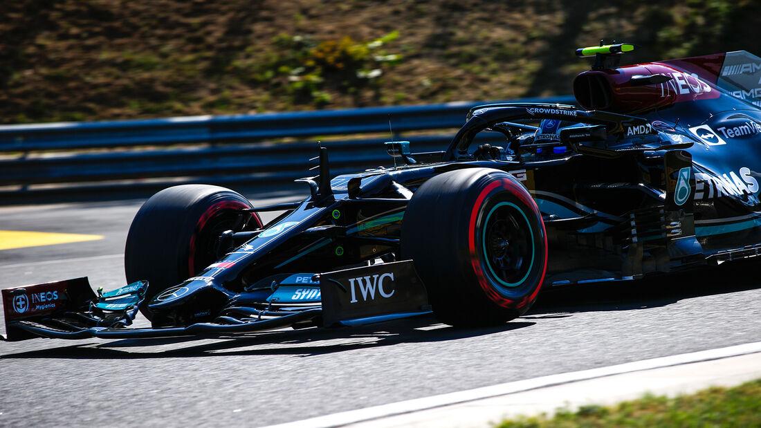 Valtteri Bottas - Mercedes - Formel 1 - GP Ungarn - Budapest - Freitag - 30. Juli 2021