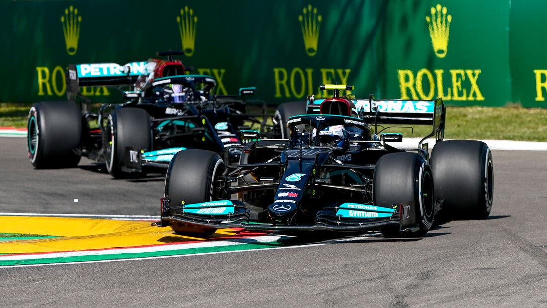 Valtteri Bottas - Mercedes - Formel 1 - Imola - GP Emilia-Romagna - 16. April 2021