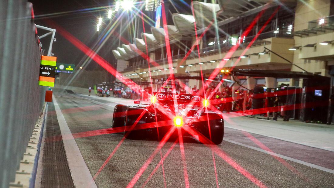Valtteri Bottas - Mercedes - Formel 1 - Test - Bahrain - 13. März 2021