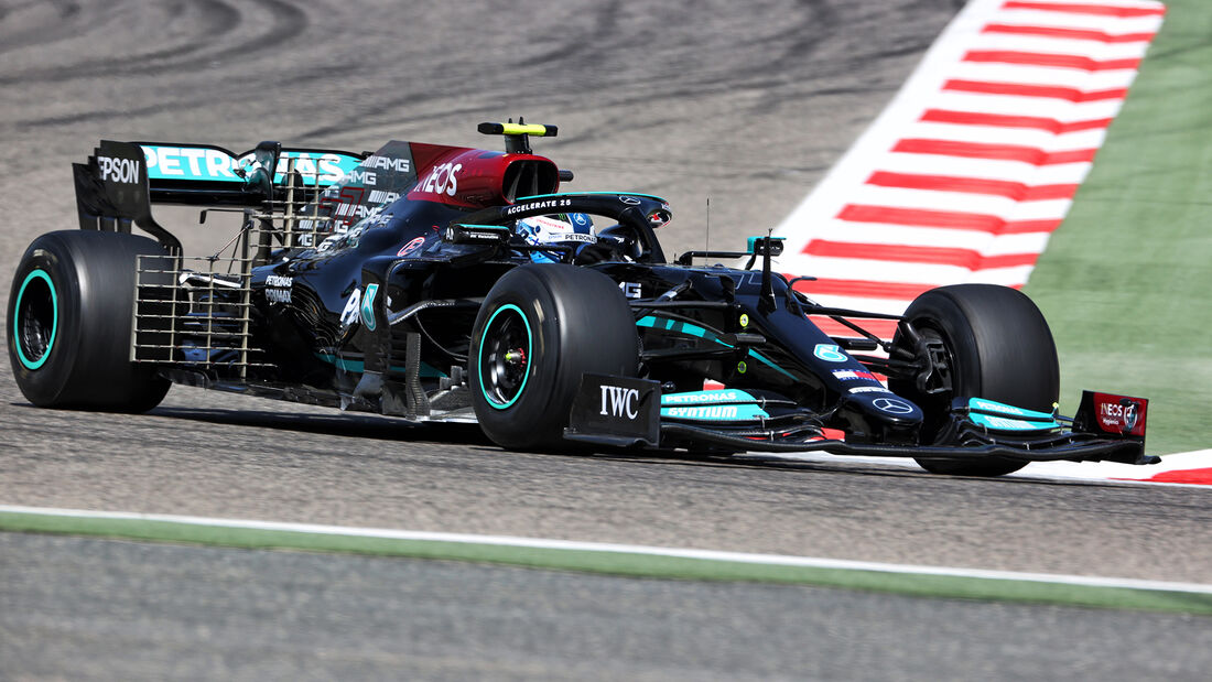 Valtteri Bottas - Mercedes - Formel 1 - Test - Bahrain - 14. März 2021