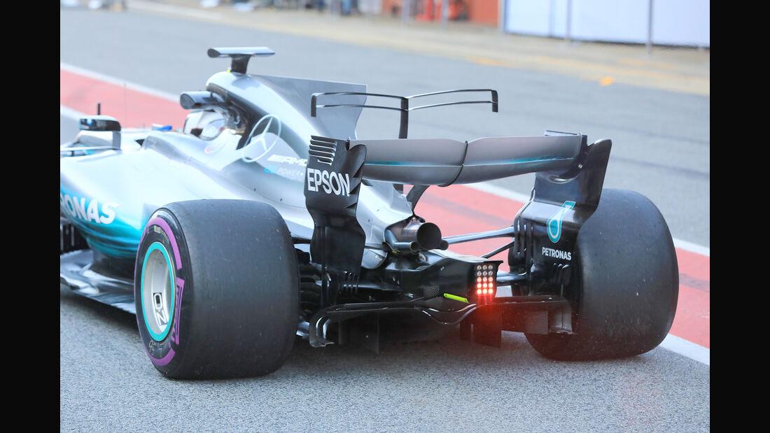 Valtteri Bottas - Mercedes - Formel 1 - Test - Barcelona - 10. März 2017