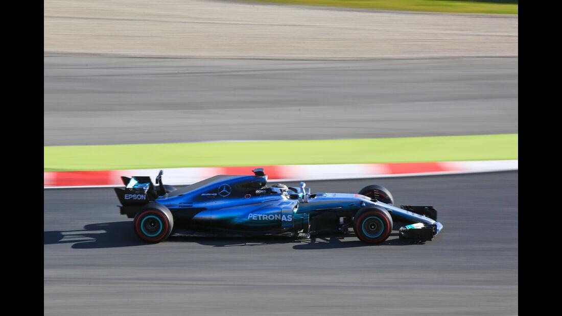 Valtteri Bottas - Mercedes - Formel 1 - Test - Barcelona - 2. März 2017
