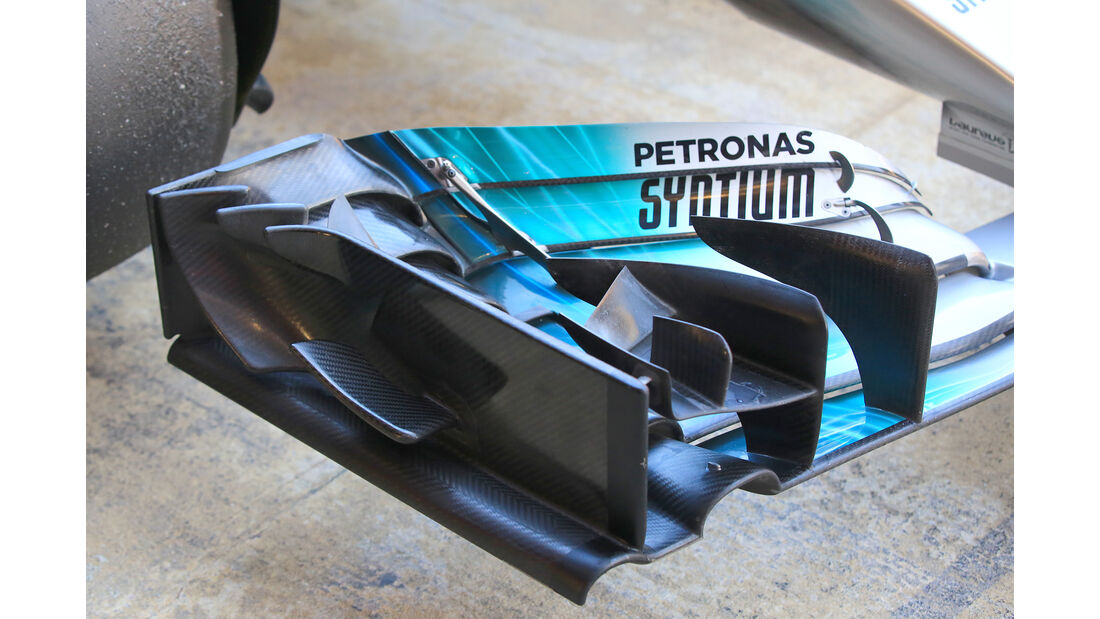 Valtteri Bottas - Mercedes - Formel 1 - Test - Barcelona - 7. März 2017