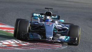 Valtteri Bottas - Mercedes - Formel 1 - Test - Barcelona - 9. März 2017