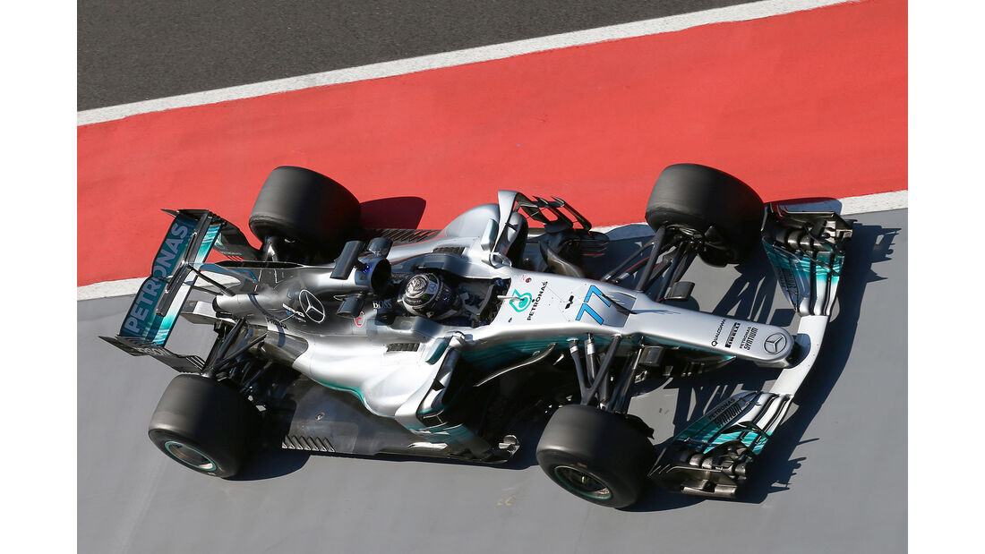 Valtteri Bottas - Mercedes - Formel 1 - Test - Ungarn - Budapest - 1. August 2017