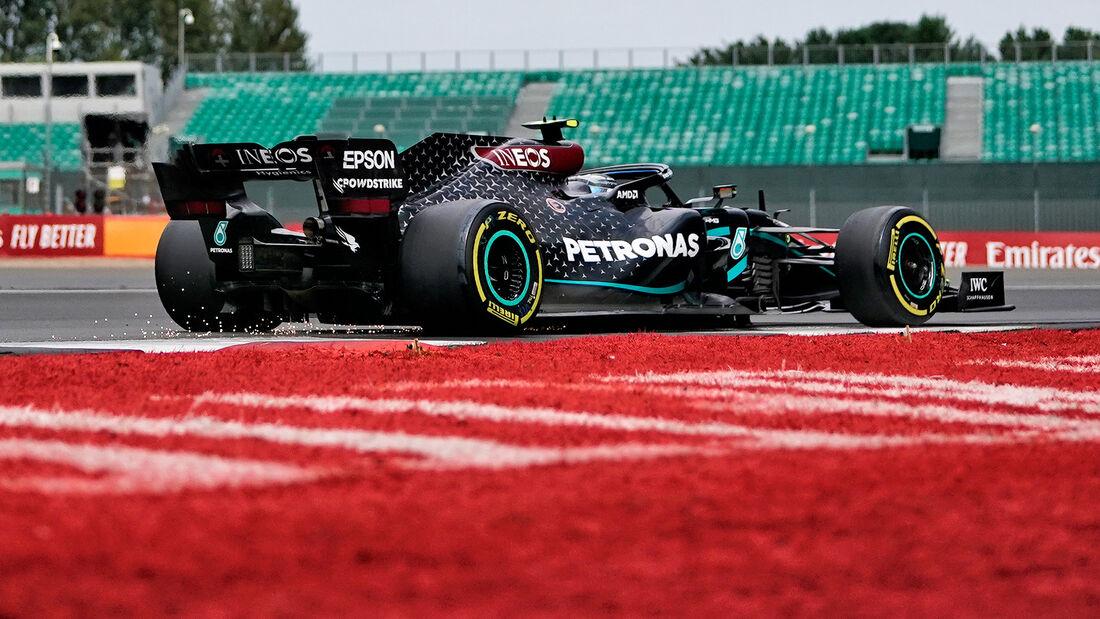 Valtteri Bottas - Mercedes - GP 70 Jahre F1 - Silverstone
