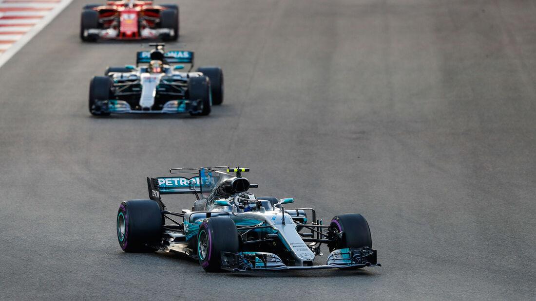 Valtteri Bottas - Mercedes - GP Abu Dhabi 2017