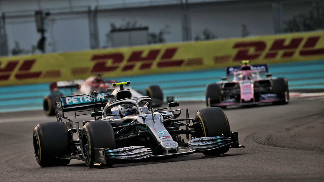 Valtteri Bottas - Mercedes - GP Abu Dhabi 2019 - Rennen