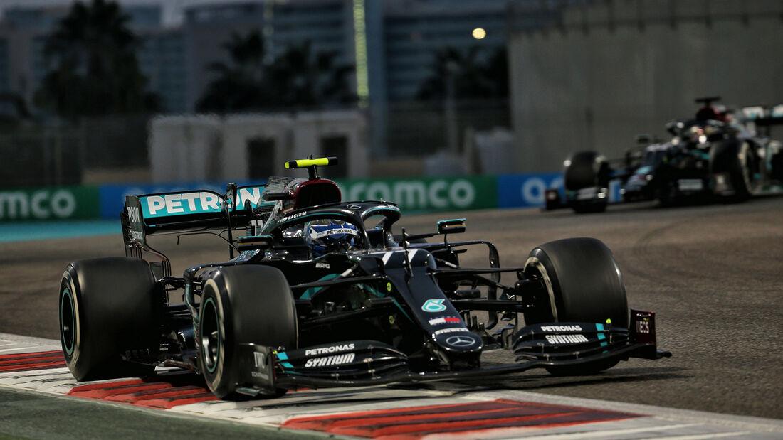 Valtteri Bottas - Mercedes - GP Abu Dhabi 2020 - Rennen