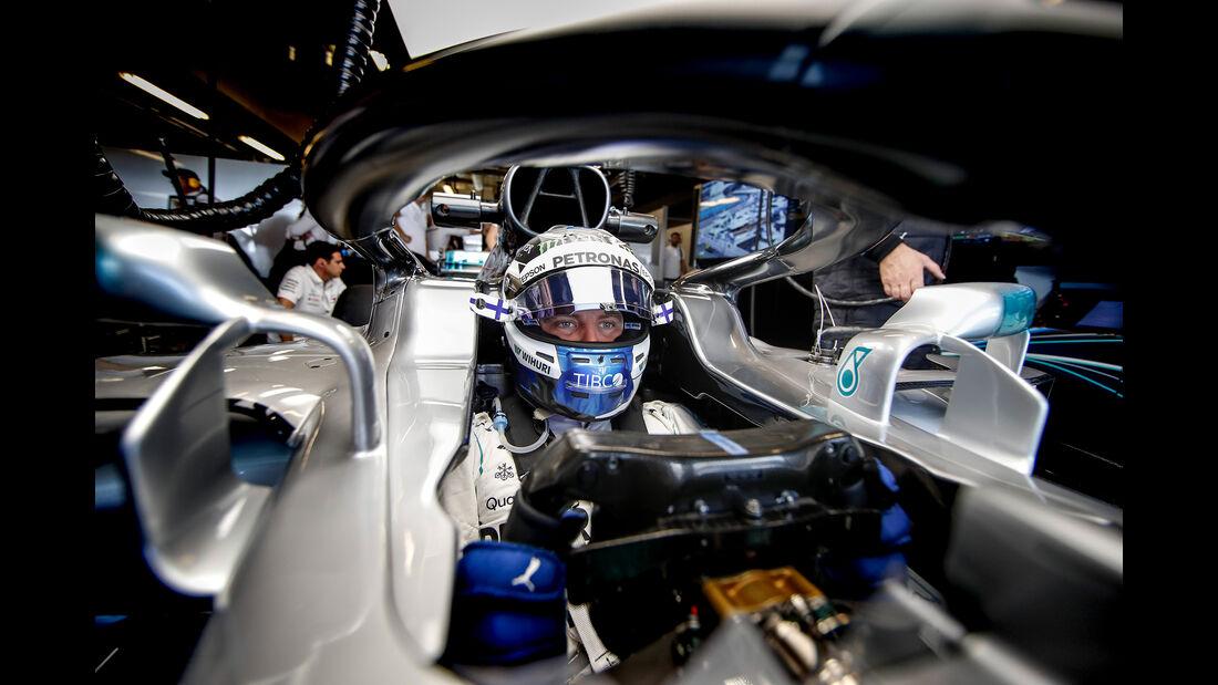 Valtteri Bottas - Mercedes - GP Abu Dhabi - Formel 1 - 23. November 2018