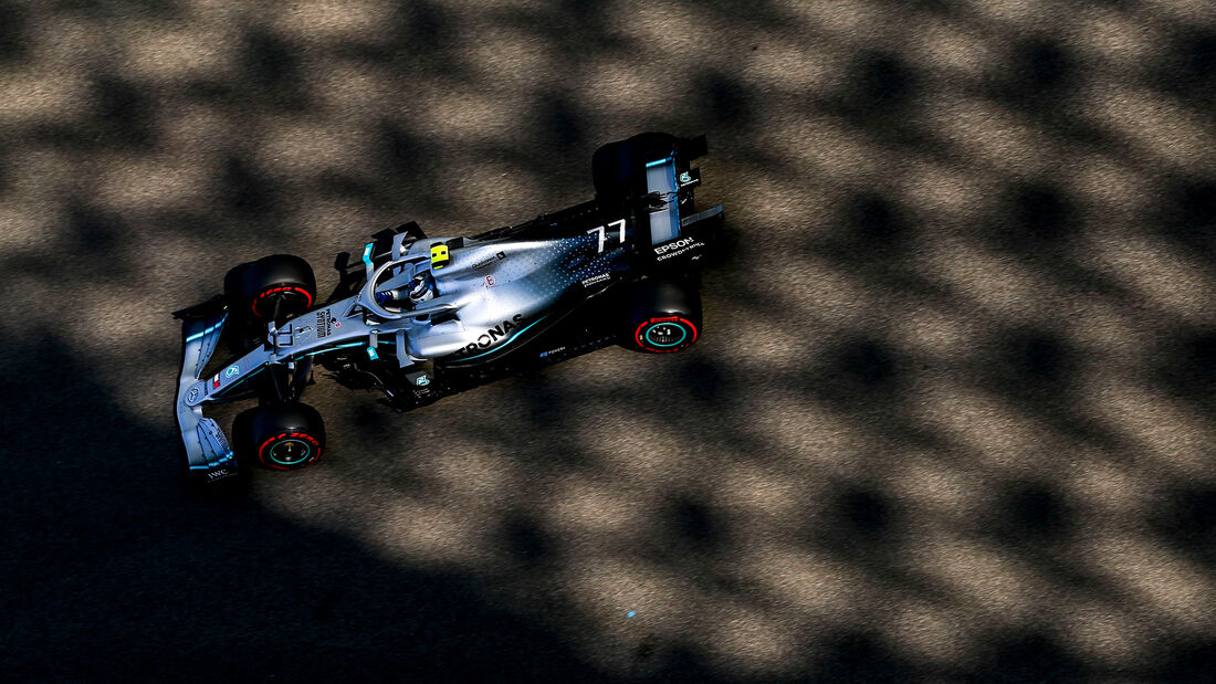 Valtteri Bottas - Mercedes - GP Abu Dhabi - Formel 1 - Freitag - 29.11.2019
