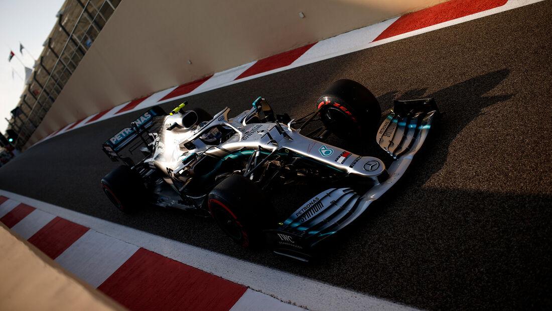 Valtteri Bottas - Mercedes - GP Abu Dhabi - Formel 1 - Samtag - 30.11.2019