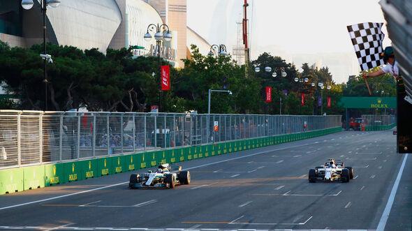 Valtteri Bottas - Mercedes - GP Aserbaidschan 2017 - Baku