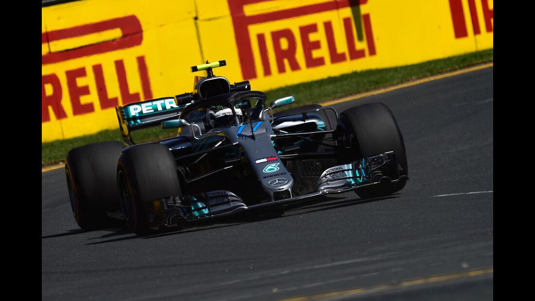 Valtteri Bottas - Mercedes - GP Australien 2018 - Melbourne - Albert Park - Freitag - 23.3.2018
