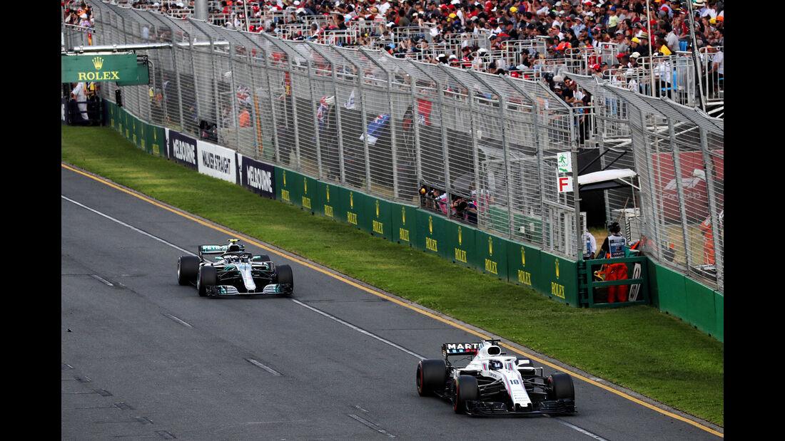 Valtteri Bottas - Mercedes - GP Australien 2018 - Melbourne - Rennen