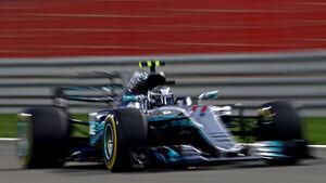 Valtteri Bottas - Mercedes - GP Bahrain 2017 - Qualifying