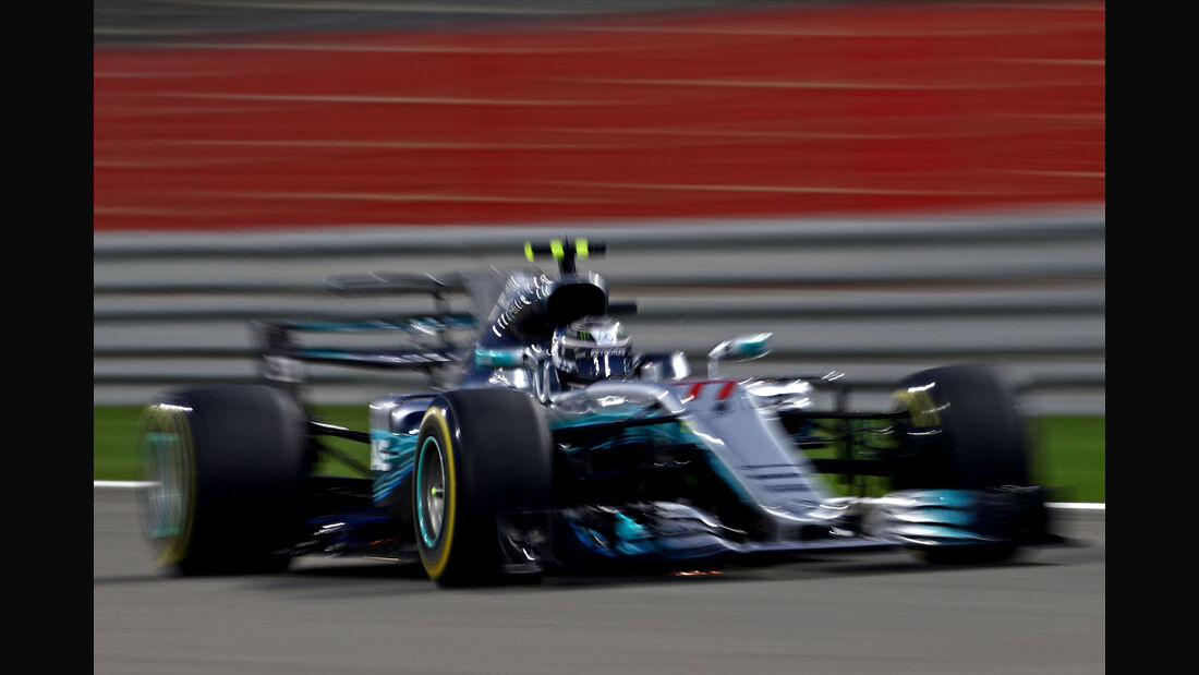Valtteri Bottas - Mercedes - GP Bahrain 2017 - Qualifying