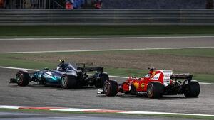 Valtteri Bottas - Mercedes - GP Bahrain 2017 - Rennen